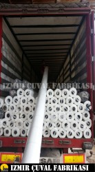 İZMİR ÇUVAL FABRİKASI - 5,2 x 100 nt Beyaz Taban Örtüsü