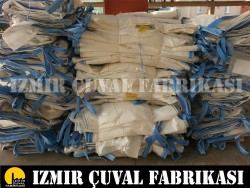 İZMİR ÇUVAL FABRİKASI - 90 X 90 X 130 cm 2. El Big Bag Çuval