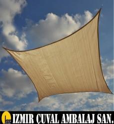 İZMİR ÇUVAL FABRİKASI - KREM GÖLGELİK FİLE (4 X 8 MT.)