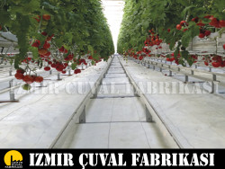 İZMİR ÇUVAL FABRİKASI - 1,75 x 100 mt. Beyaz Taban Örtüsü
