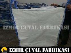 İZMİR ÇUVAL FABRİKASI - 90 X 90 X 130 cm Baskı Hatalı Big Bag Çuval
